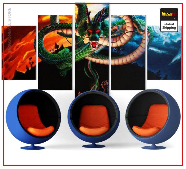 toile shenron - Dragon Ball Store