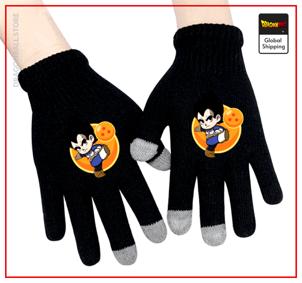 Dragon Ball gloves  Vegeta Default Title Official Dragon Ball Z Merch