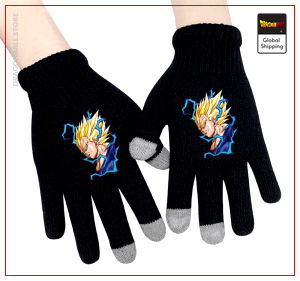 Dragon Ball Gloves Vegeta Saiyan Default Title Official Dragon Ball Z Merch