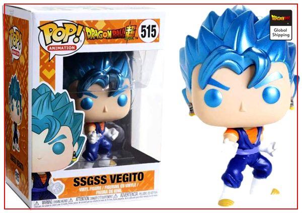 Funko Pop Dragon Ball Vegeto Super Saiyan Blue Default Title Official Dragon Ball Z Merch
