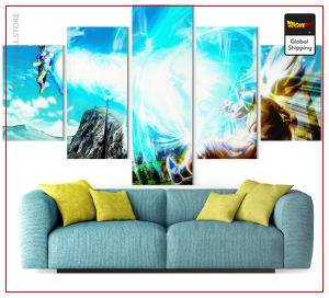 Wall Art Canvas Dragon Ball Z  Goku vs Cell Perfect Small / Without frame Official Dragon Ball Z Merch