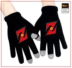 Dragon Ball Z Gloves Symbol Default Title Official Dragon Ball Z Merch