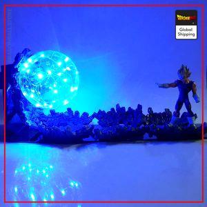 Dragon Ball Z Vegeta Final Impact Lamp Default Title Official Dragon Ball Z Merch
