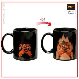 DBZ Thermosensitive Mug  Goku Kaio-Ken Default Title Official Dragon Ball Z Merch