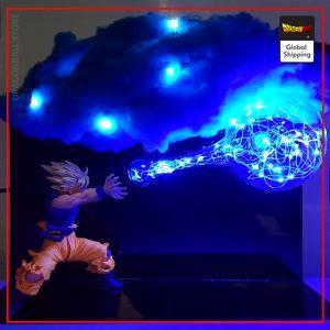 Dragon Ball Z LampGoku Kamehameha Cloud Default Title Official Dragon Ball Z Merch