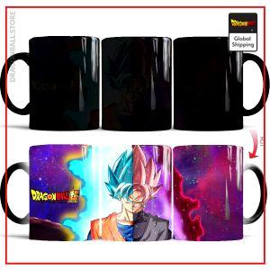 DBS Thermosensitive Mug  Goku Blue vs Goku Black Default Title Official Dragon Ball Z Merch