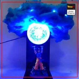 Dragon Ball Z Lamp Goku Genkidama Cloud Default Title Official Dragon Ball Z Merch