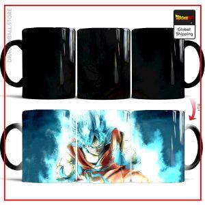 DBS Thermosensitive Mug  Goku Super Saiyan Blue Default Title Official Dragon Ball Z Merch