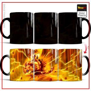 DBZ Thermosensitive Mug  Goku Super Saiyan Default Title Official Dragon Ball Z Merch