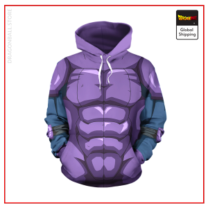 Hit Outfit Hoodie DBM2806 S Official Dragon Ball Merch