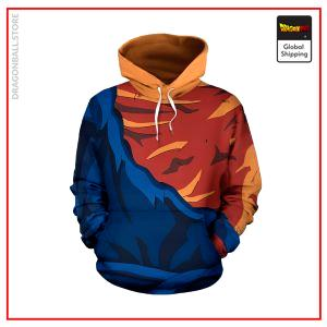 Ripped Vegito Outfit Hoodie DBM2806 S Official Dragon Ball Merch