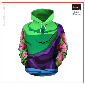 Ripped Piccolo Outfit Hoodie DBM2806 S Official Dragon Ball Merch