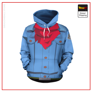 Future Trunks Outfit Hoodie DBM2806 S Official Dragon Ball Merch