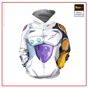Mecha Frieza Skin Hoodie DBM2806 S Official Dragon Ball Merch