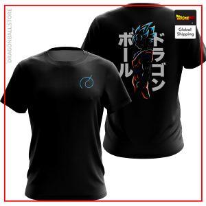 SSJ Blue Goku - Whis Gi T-Shirt DBM2806 US Small Official Dragon Ball Merch