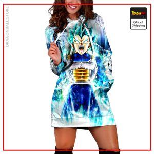 (DBMerch) SSGSS Vegeta Hoodie Dress DBM2806 XS Official Dragon Ball Merch