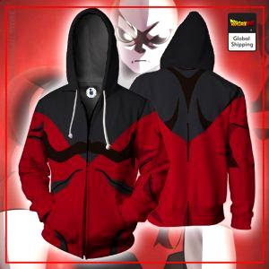 Jiren Outfit Zipper Hoodie DBM2806 M Official Dragon Ball Merch