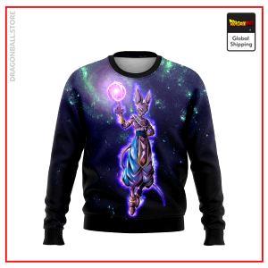 (DBMerch) Beerus Legends Sweatshirt DBM2806 US S Official Dragon Ball Merch