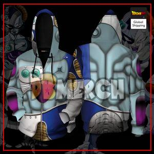 (DBMerch) Mecha Frieza Armor Zipper Hoodie DBM2806 M Official Dragon Ball Merch