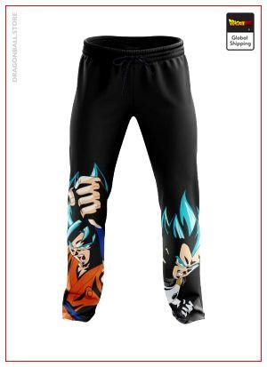 SSGSS Goku & Vegeta Joggers DBM2806 Asian M Official Dragon Ball Merch