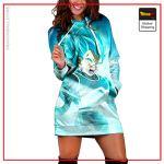 SSGSS Vegeta Hoodie Dress DBM2806 XS Official Dragon Ball Merch