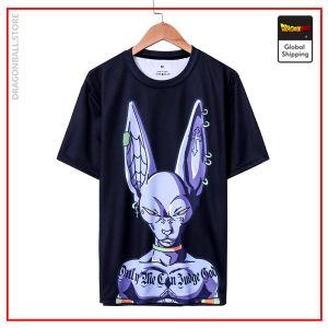 Beerus Premium Streetwear T-Shirt DBM2806 SQD09 / S Official Dragon Ball Merch