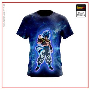 (DBMerch) SSB Gogeta T-Shirt DBM2806 US Small Official Dragon Ball Merch