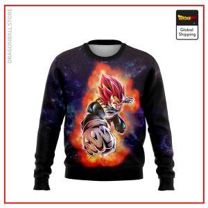 (DBMerch) SSG Vegeta Sweatshirt DBM2806 US S Official Dragon Ball Merch