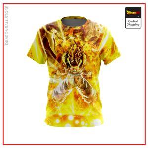(DBMerch) SSJ Gogeta T-Shirt DBM2806 US Small Official Dragon Ball Merch