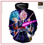 Goku Black Saga Hoodie DBM2806 S Official Dragon Ball Merch