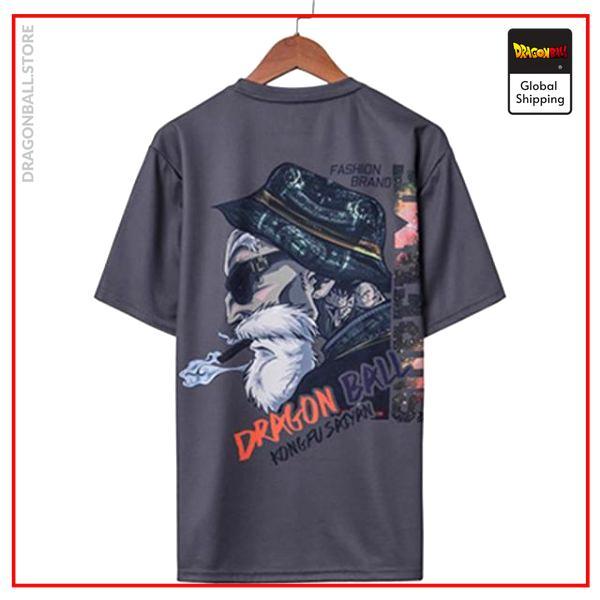 Master Roshi Premium Streetwear T-Shirt DBM2806 S Official Dragon Ball Merch