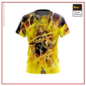 Bardock's Revenge T-Shirt DBM2806 US Small Official Dragon Ball Merch