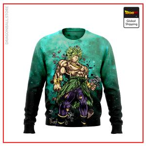 (DBMerch) Legendary Super Saiyan Broly Sweatshirt DBM2806 US S Official Dragon Ball Merch
