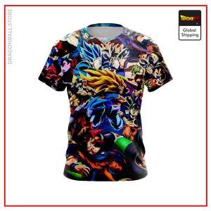 Dragon Ball Super T-Shirt DBM2806 US Small Official Dragon Ball Merch