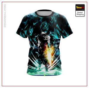 SSGSS Goku / Vegeta T-Shirt DBM2806 US Small Official Dragon Ball Merch