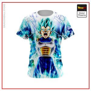 SSGSS Vegeta T-Shirt DBM2806 US Small Official Dragon Ball Merch