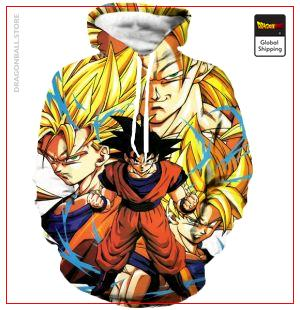 Classic Goku Hoodie DBM2806 S Official Dragon Ball Merch