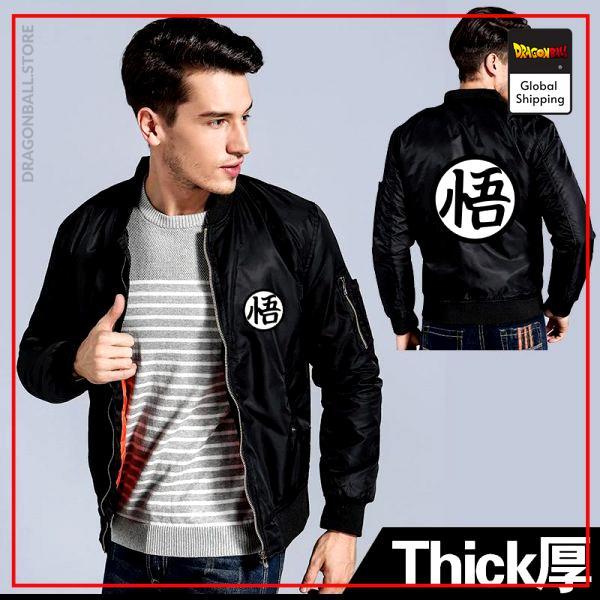 Black (Thin) / M Official Dragon Ball Merch