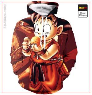 Kid Goku Hoodie DBM2806 S Official Dragon Ball Merch