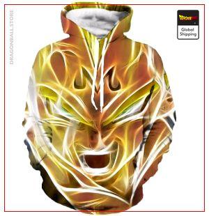 Majin Vegeta Hoodie DBM2806 S Official Dragon Ball Merch