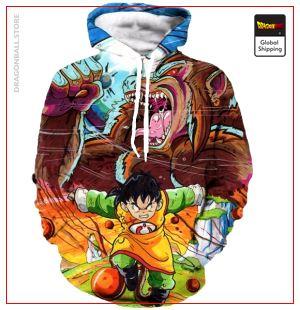 Kid Gohan / Oozaru Hoodie DBM2806 S Official Dragon Ball Merch