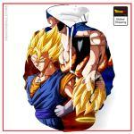Vegito Gogeta Hoodie DBM2806 S Official Dragon Ball Merch