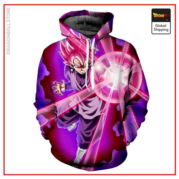 SSJ Rosé Goku Black Hoodie DBM2806 M Official Dragon Ball Merch