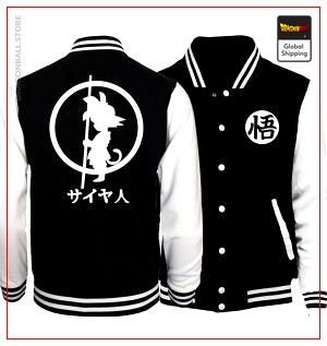 Kid Goku Baseball Jacket DBM2806 S Official Dragon Ball Merch
