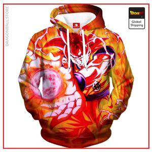 Super Saiyan God Goku Hoodie DBM2806 S Official Dragon Ball Merch