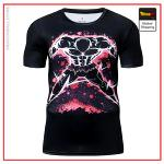 Premium Compression Jiren Gym T-Shirt DBM2806 UDJ27 / Asia S Official Dragon Ball Merch