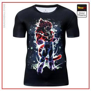 Premium Compression SSJ4 Vegeta Gym T-Shirt DBM2806 UDJ29 / Asia S Official Dragon Ball Merch