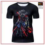 Premium Compression DB Heroes Goku Gym T-Shirt DBM2806 UDJ30 / Asia S Official Dragon Ball Merch