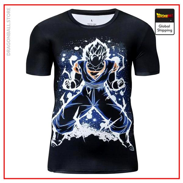 Premium Compression Vegito Gym T-Shirt DBM2806 UDJ31 / Asia S Official Dragon Ball Merch