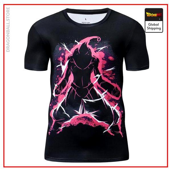Premium Compression Kid Buu Gym T-Shirt DBM2806 Asia S Official Dragon Ball Merch